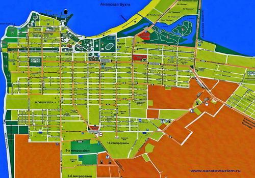 Карта движения маршрутных